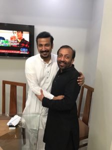 farooq star with sabzwari