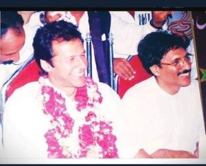 dr arif alvi and Imran Khan historic pic